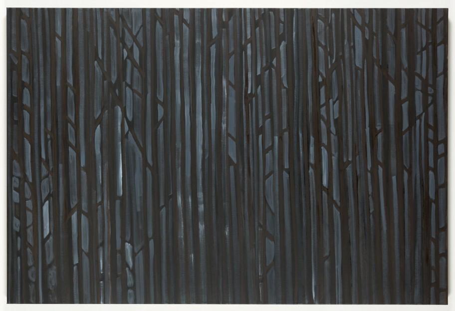 Benjamin Butler Abstract Forest, 2013 Öl auf Leinen, Galerie Martin Janda