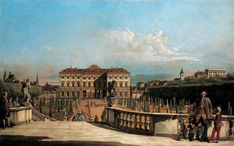 Canaletto, Palais Liechtenstein