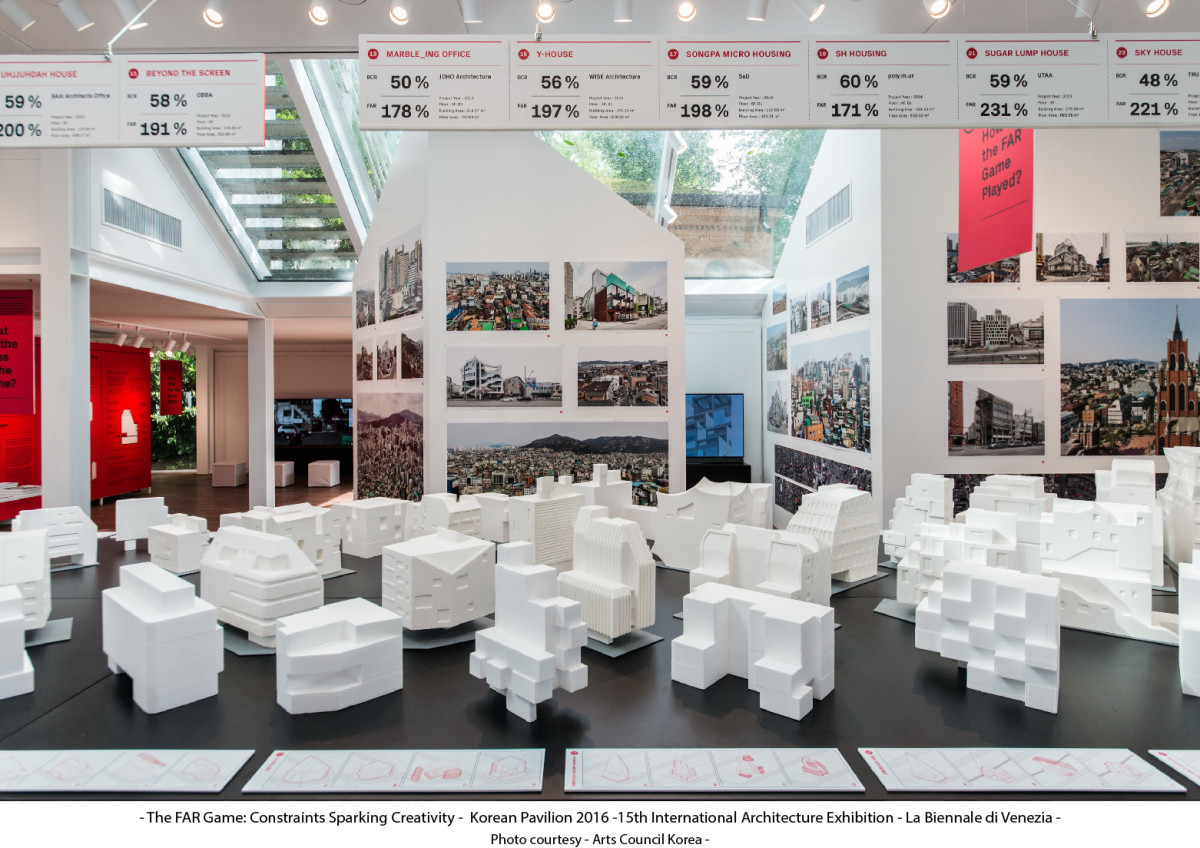 The FAR Game: Constraints Sparking Creativity - Korean Pavilion 15th International Architecture Exhibition - La Biennale di Venezia