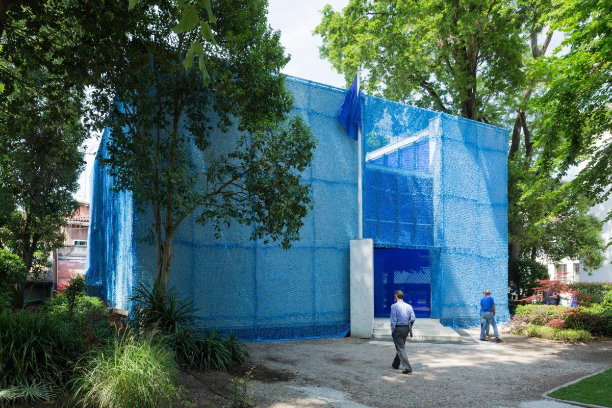 Pavillon Holland, BLUE. Architektur von UN-Friedensmissionen