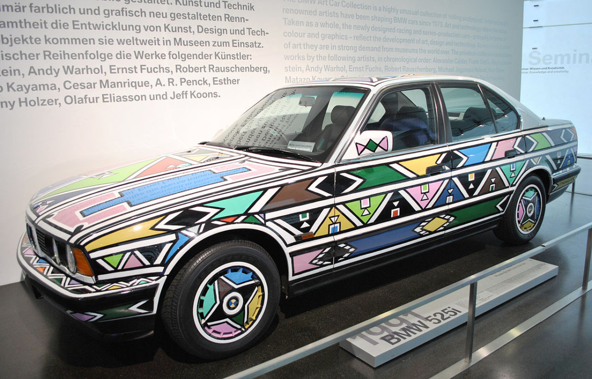 BMW 5251, Esther Mahlangu, 1991