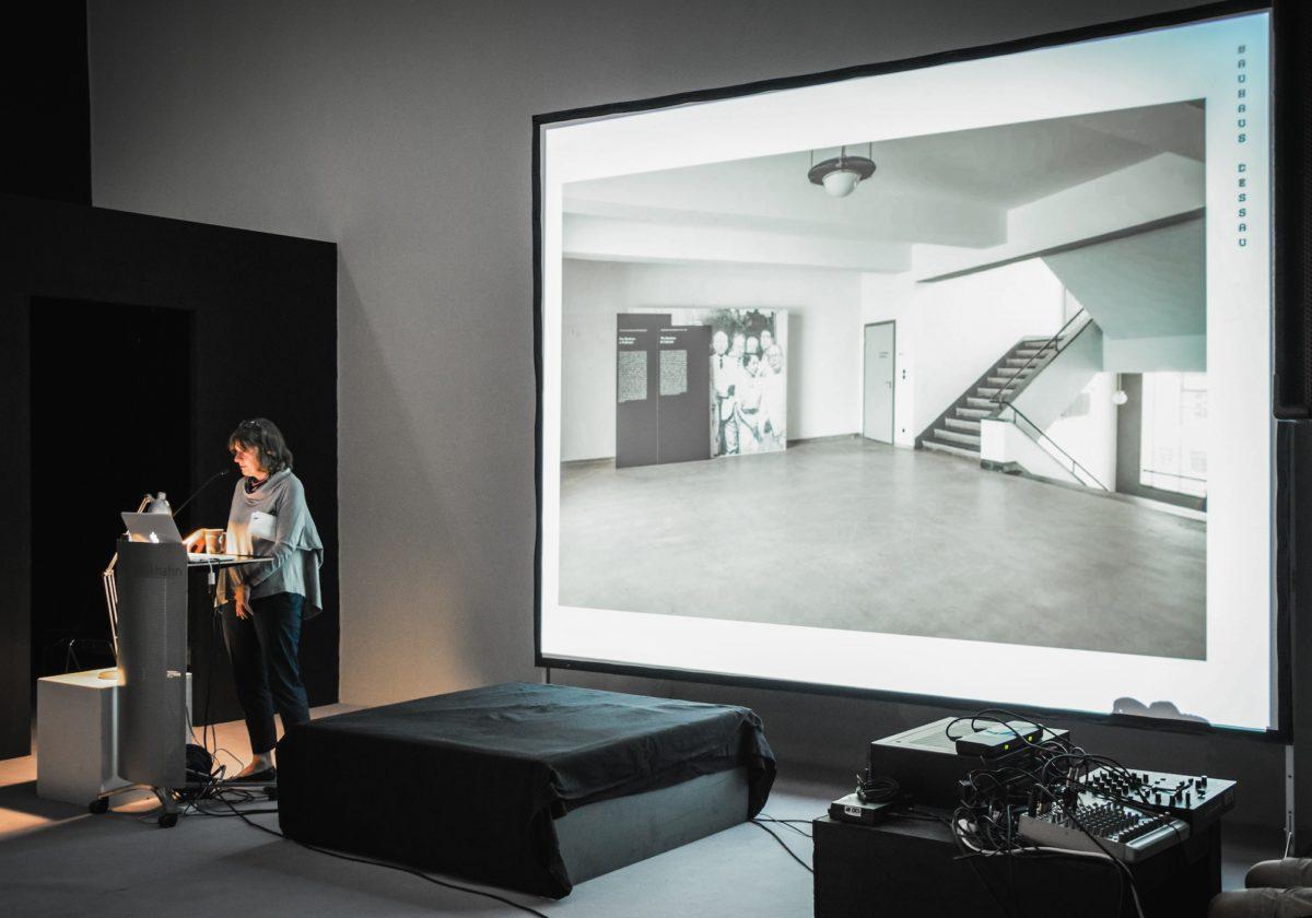 Vortrag Regina Bittner, Courtesy Sommerakademie Salzburg