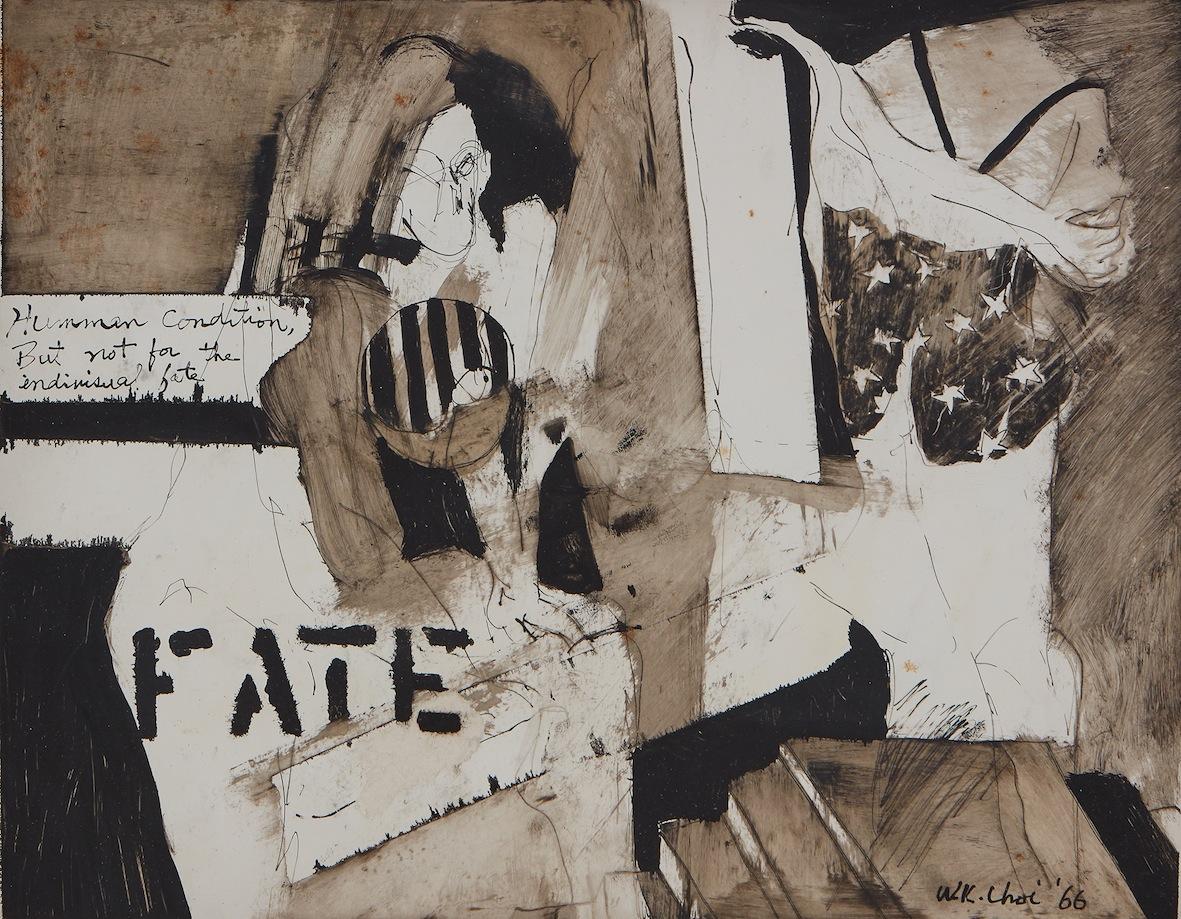 Wook-kyung Choi, Fate, 1966 // Kukje Gallery, Seoul