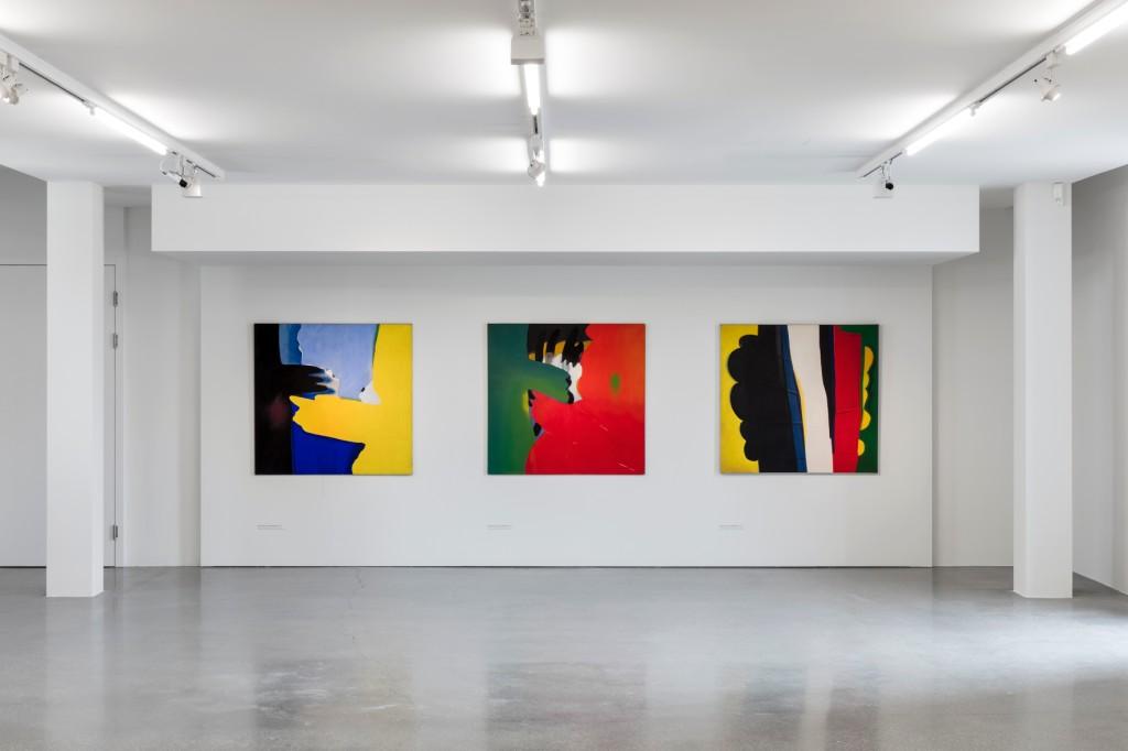 """Rudolf Goessl, Installationsansicht """"Malerei im Wandel"""", 21er Haus, Wien // Belvedere"""