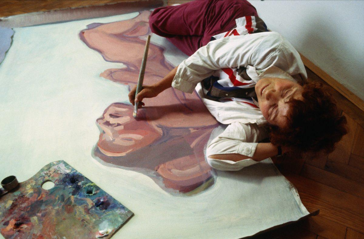 Maria Lassnig, 1983. Foto Westermann