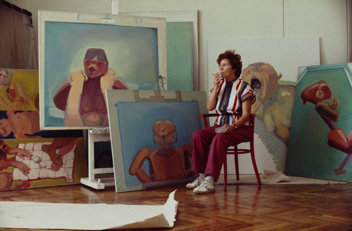 Maria Lassnig, Foto Westermann