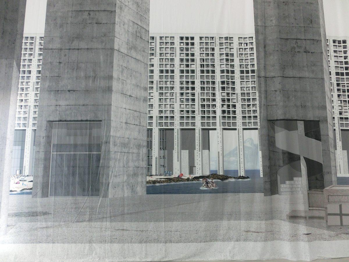 Entwurf für eine Flüchtlings-Enklave // SBV