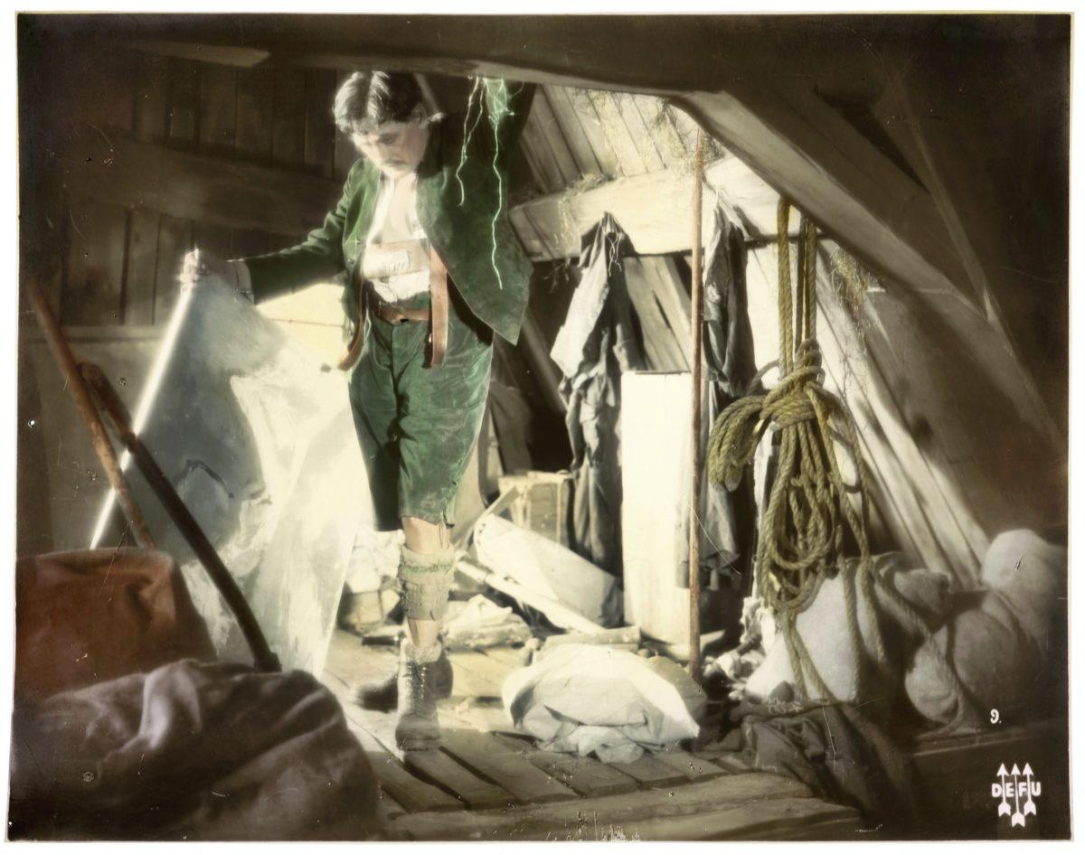 Alpentragödie, 1927, Regie/Drehbuch Robert Land. c für alle Fotografien: Österreichisches Filmmuseum, Wien