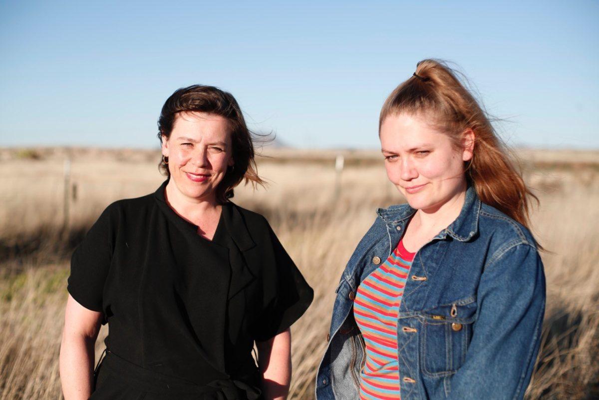Frédérique Bergholtz und Susan Gibb. Foto Maria Barlasov