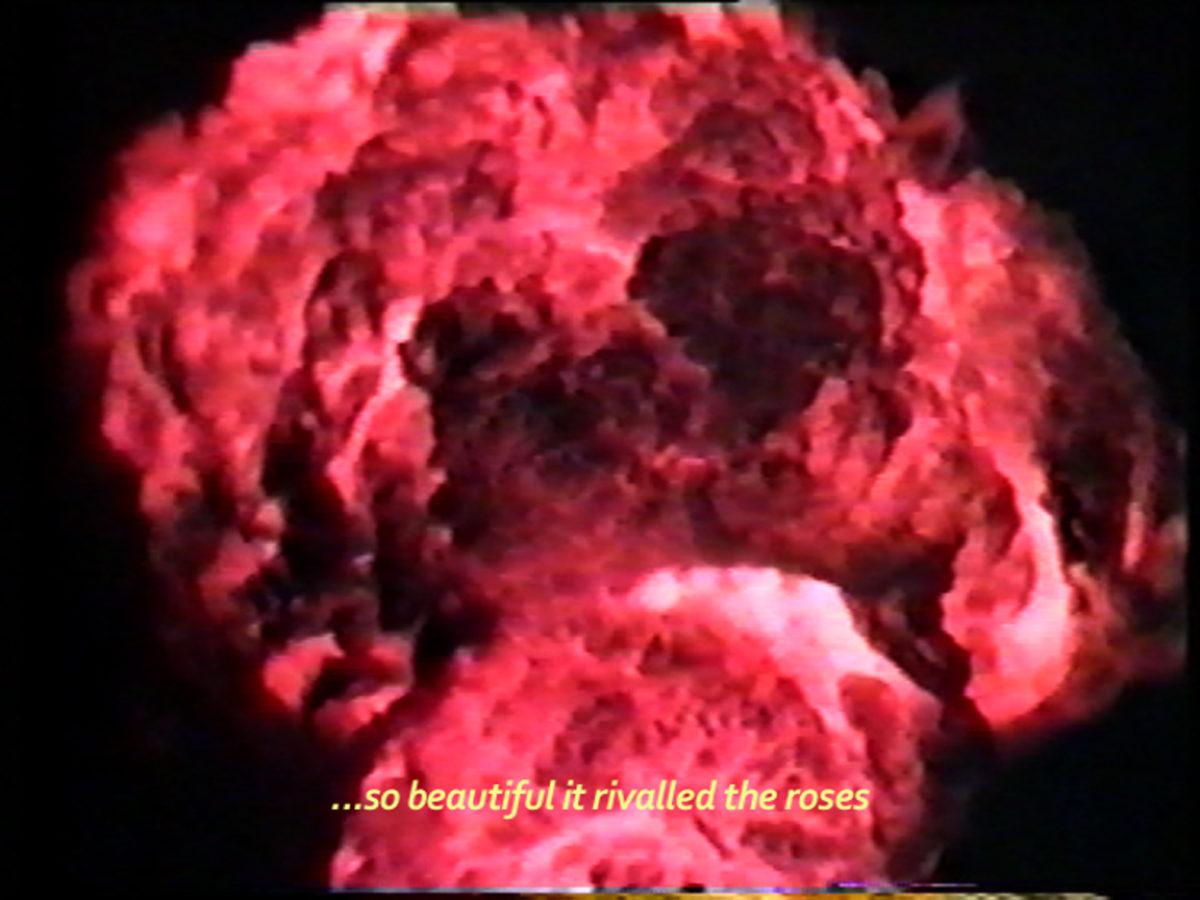Monira Al Qadiri, Behind the Sun, 2013. Video, 10:00 Min.