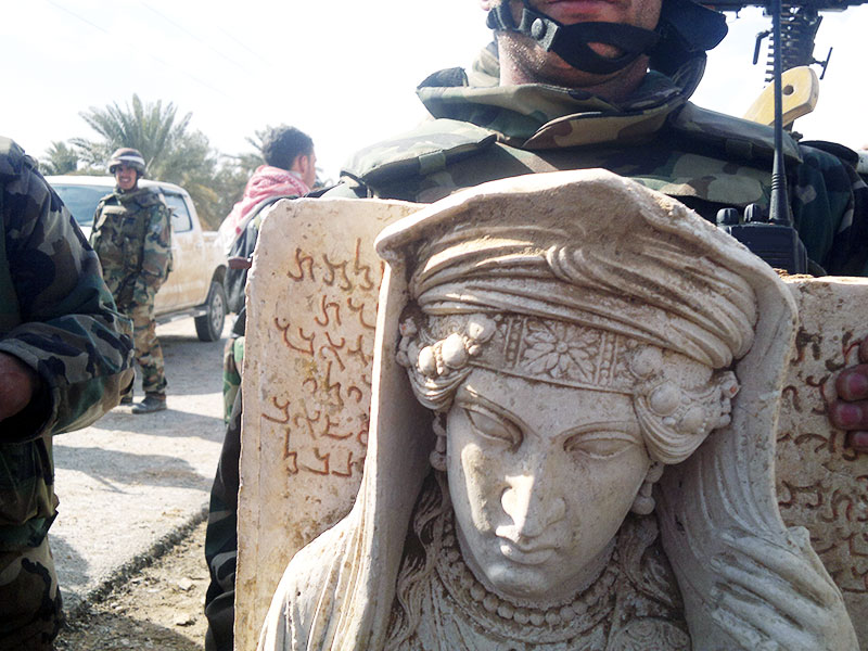 Destruction of Palmyra's historical monuments. (c) UNESCO, by 12th March 2014