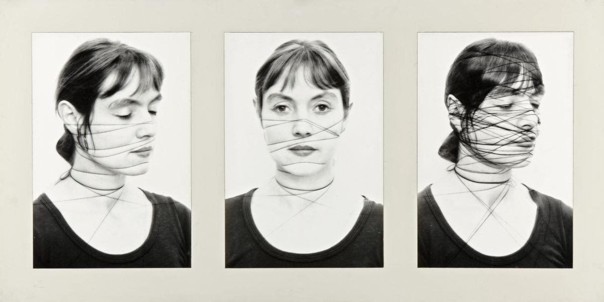 Annegret Soltau, Selbst, 1976/2005, s/w Fotografie auf Brytpapier, aus 14teiliger Serie. © Annegret Soltau/ Sammlung Verbund, Wien