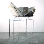 """Rudolf Polanszky, """"Deformationsfaltung, 2010, Foto: Galerie Konzett, Wien"""