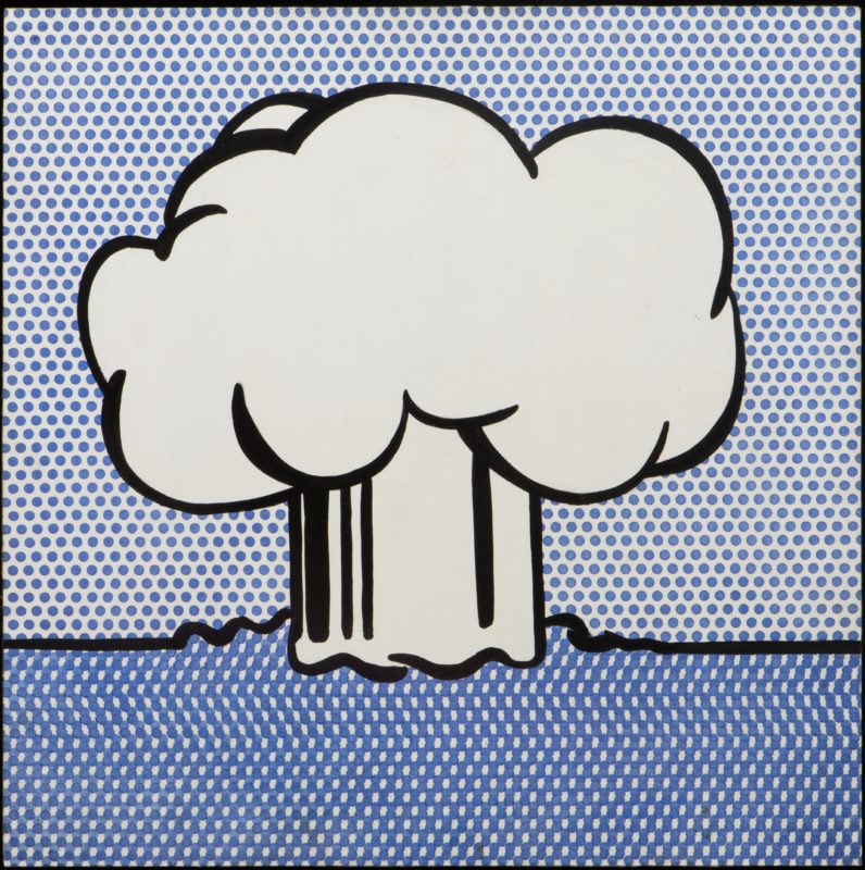 Roy Lichtenstein, Atmoic Burst, 1965. Modern Art Museum of Fort Worth, Fort Worth The Benjamin J. Tillar Memorial Trust. VG Bild-Kunst, Bonn 2016