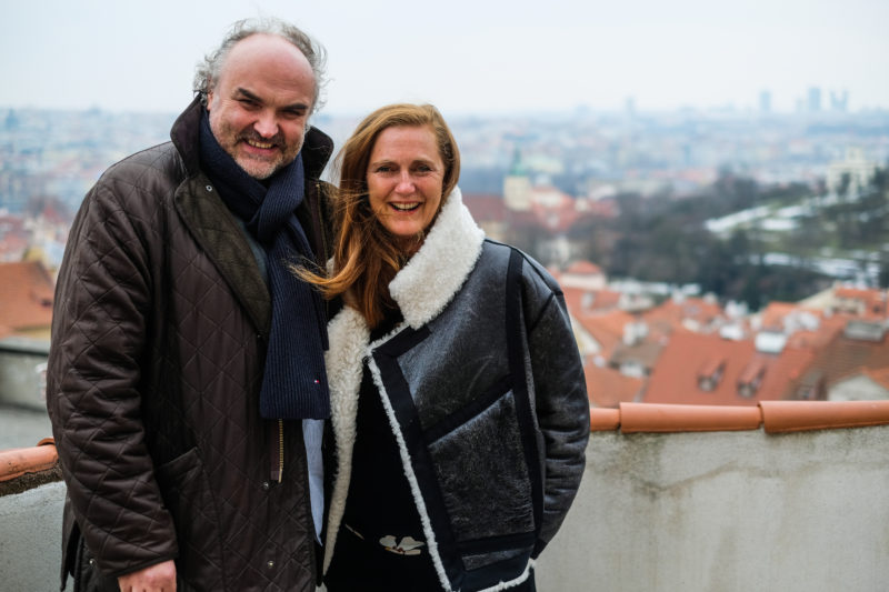 Jiří Fajt und Francesca Habsburg, 2017 // Martin Pollack