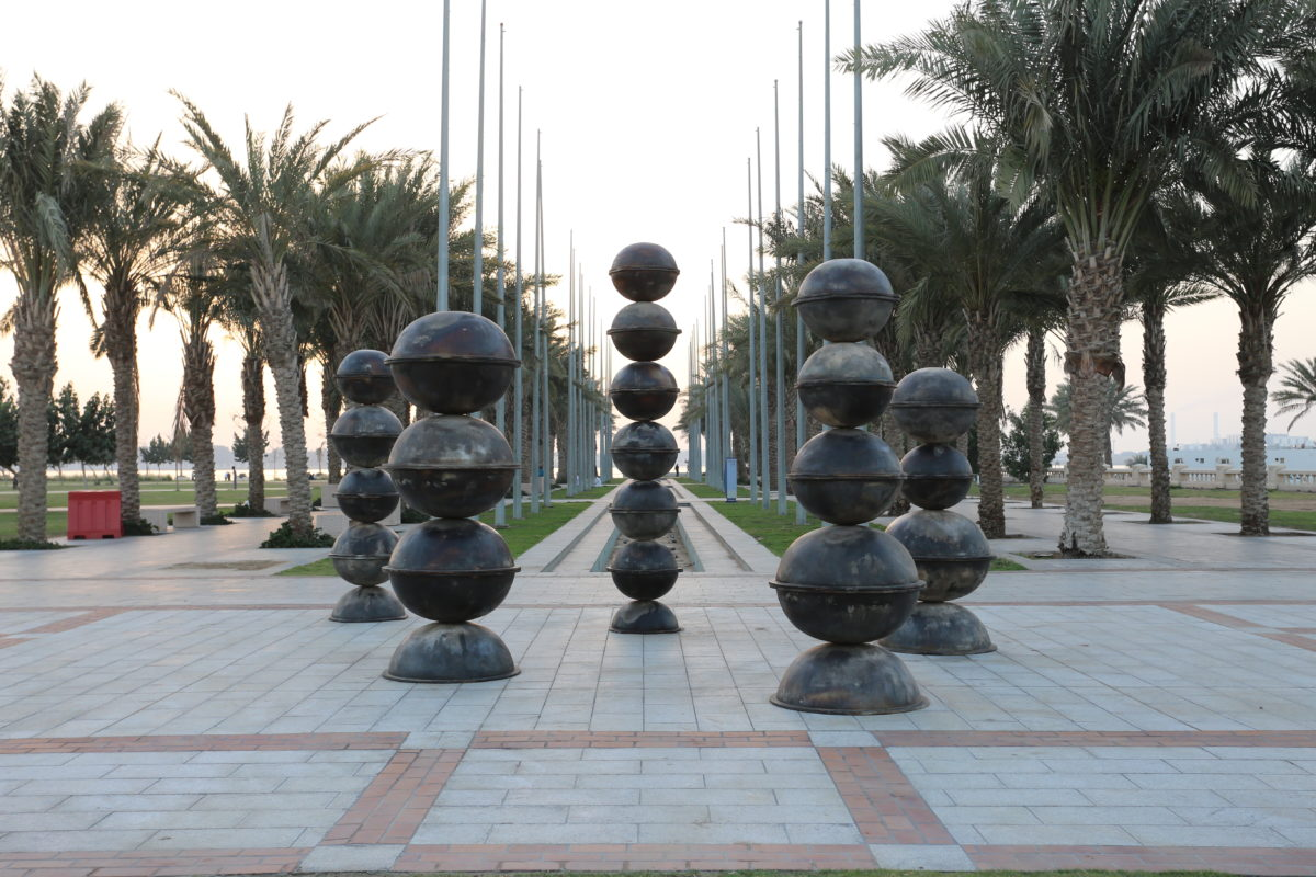Jeddah Sculpture Museum: Maha Mallouh, Food For Thought, Abraj 2016
