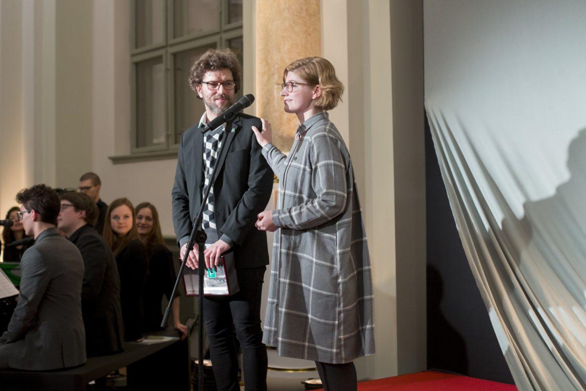 Gewinner des 5. Purvitis Prize: Kriss Salmanis, Anna Salmane