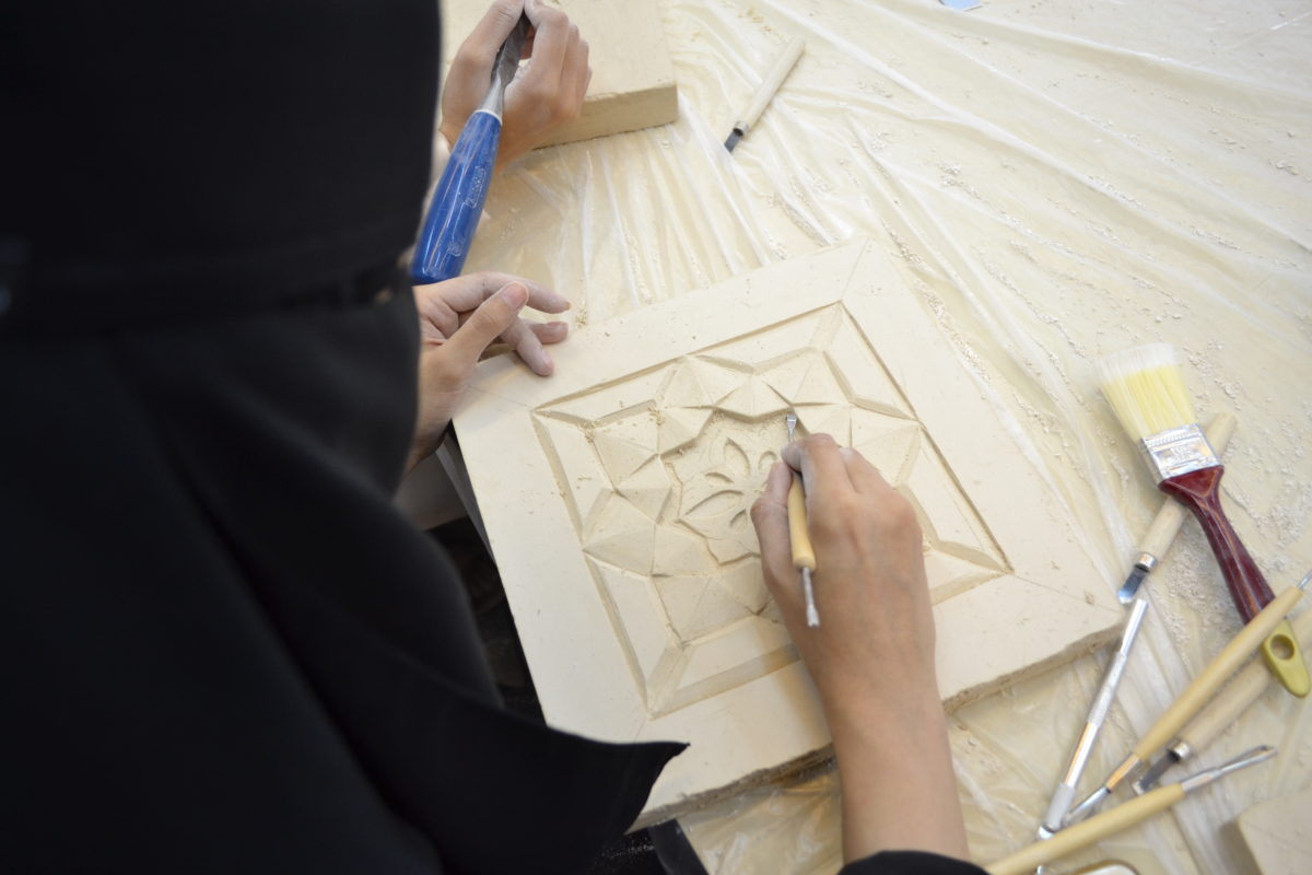 Workshop at Jameel House of Traditional Arts Jeddah © Art Jameel