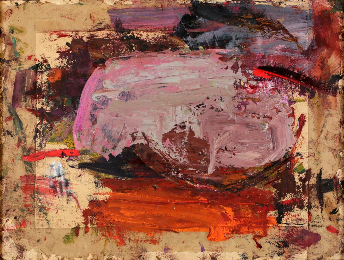 Martha Jungwirth, o.T. (aus der Serie Judith and Holofernes), 2015. Galerie Krinzinger Vienna