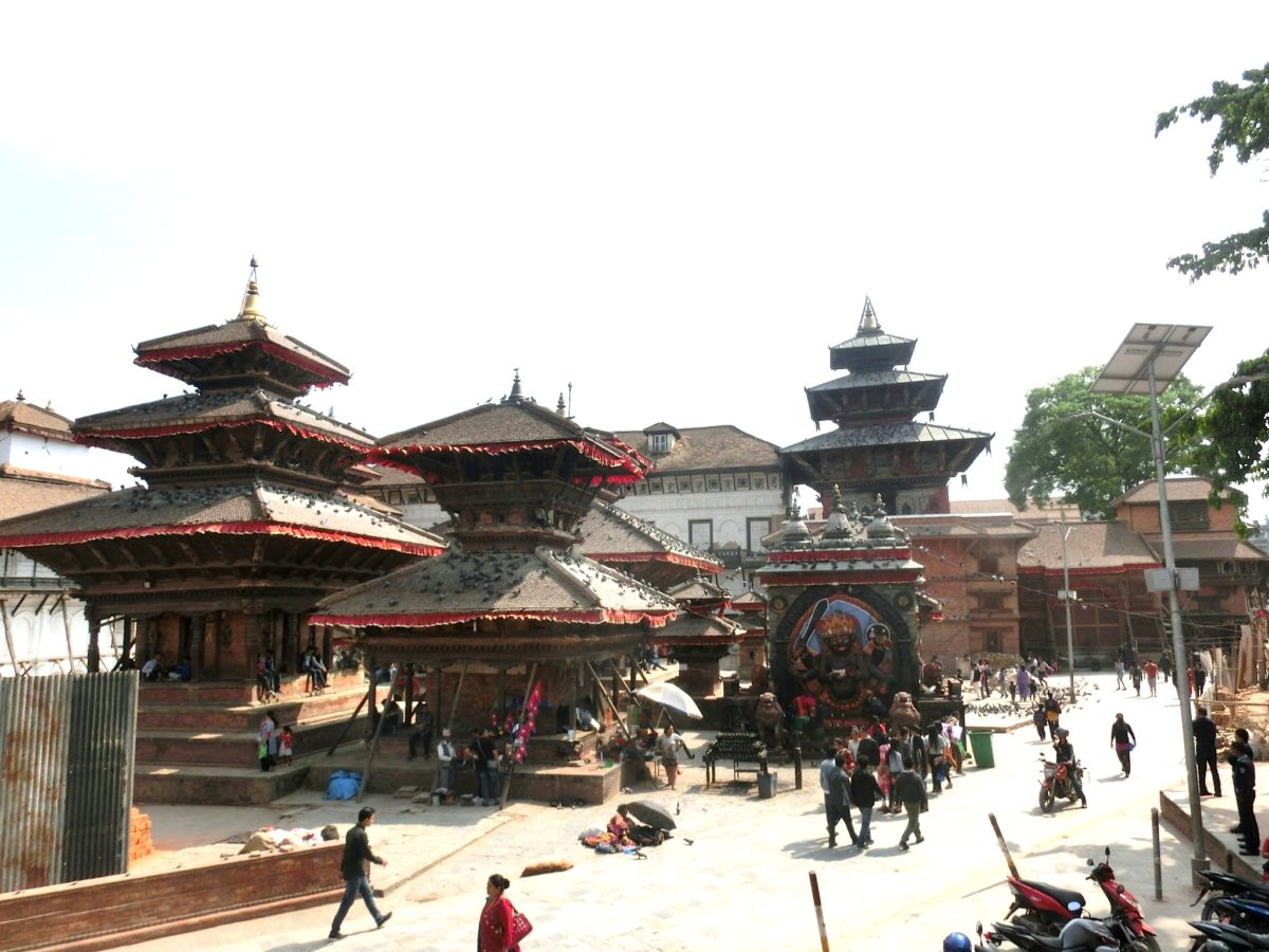 Tempel am Durbar Square. Foto SBV