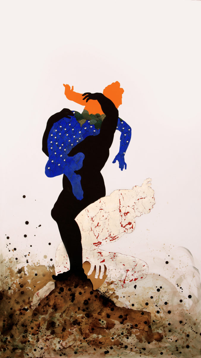 Waseem Ahmed, o.T. /Cain and Abel), 2016. Copyright: the artist and Gowen Contemporary, Genf