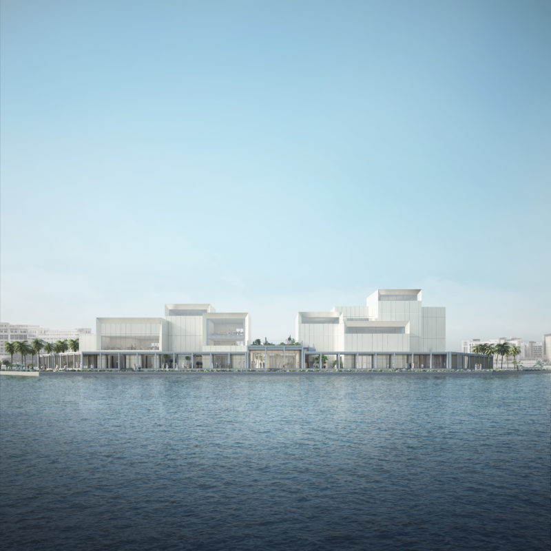 Art Jameel Arts Centre, Nordseite, Courtesy Serie Architects