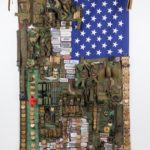 Sara Rahbar, Land of Opportunity, 2008, Flag #12. Courtesy Gallery Carbon 12