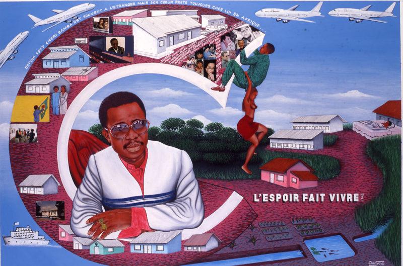 Cheri Samba, Lespoir fait vivre N2, Courtesy CAAC - The Pigozzi Collection