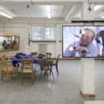 Koki Tanaka, Provisional Studies: Workshop #7 How to Live Together and Sharing the Unknown [Provisorische Studien: Workshop #7 Wie zusammen Leben und das Unbekannte teilen], © Skulptur Projekte 2017, Foto: Henning Rogge