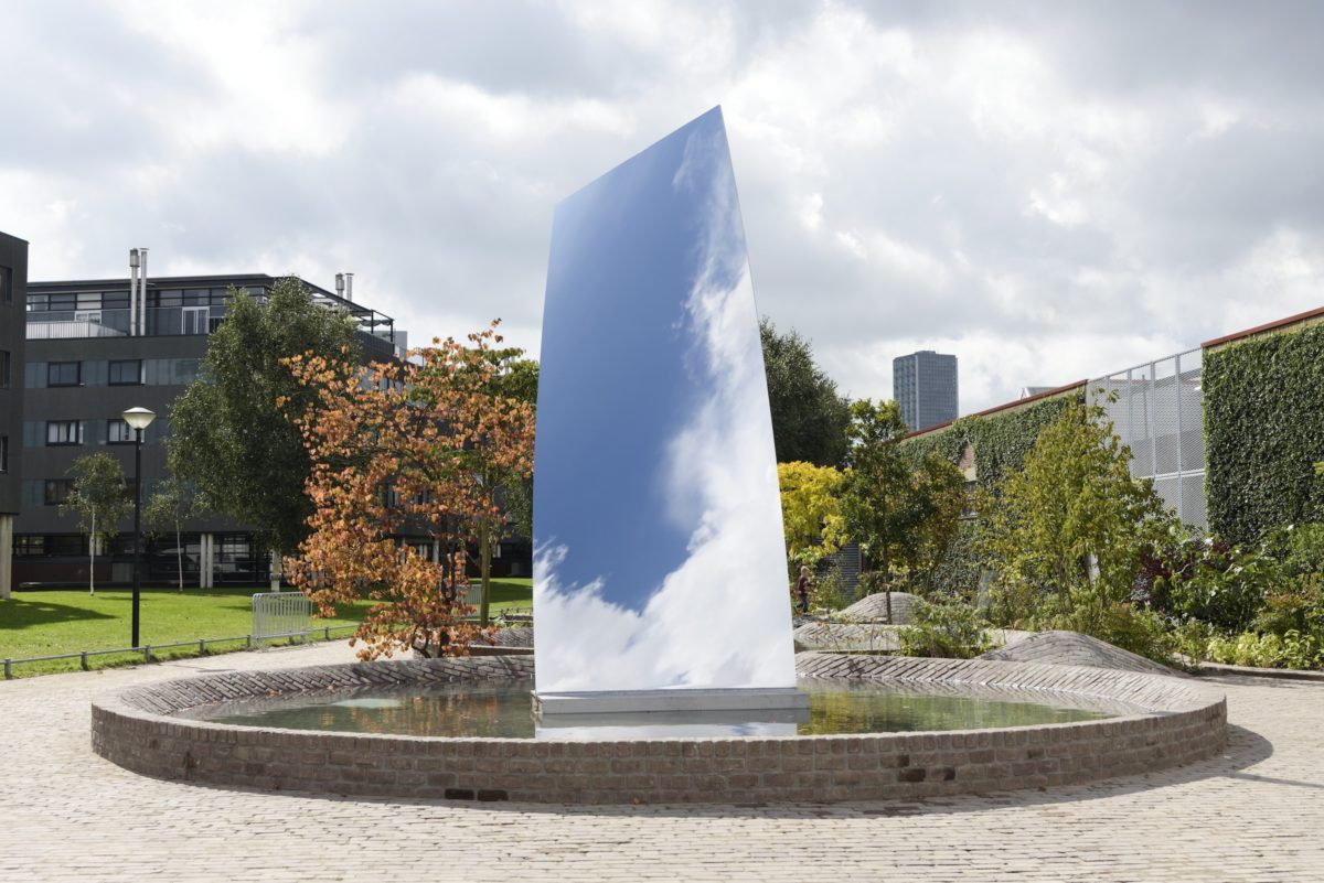 Anish Kapoor, Sky Mirror (for Hendrik), 2017. Collection De Pont Museum Tilburg