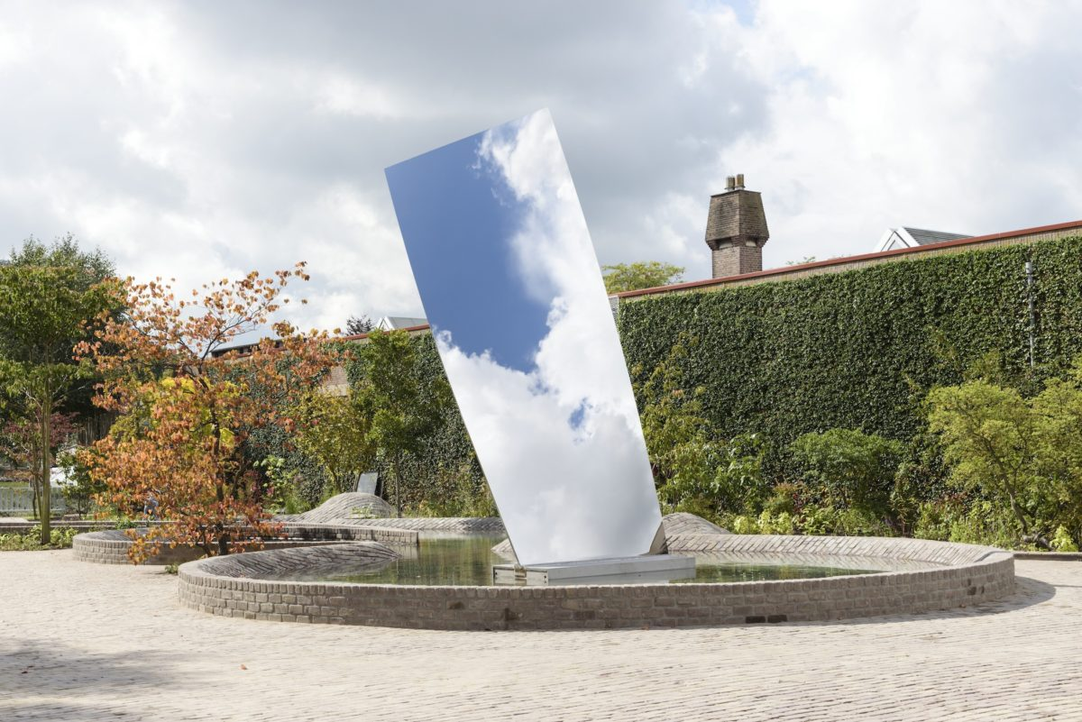 Anish Kapoor, Sky Mirror (for Hendrik), 2017. Collection De Pont Museum Tilburg. Foto Peter Cox