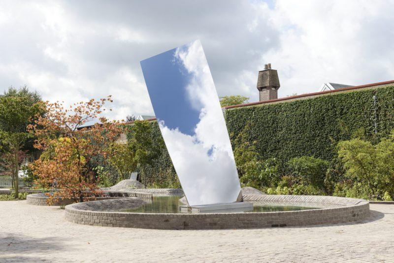 Anish Kapoor, Sky Mirror (for Hendrik),  2017. Collection De Pont Museum Tilburg. Foto Peter Cox