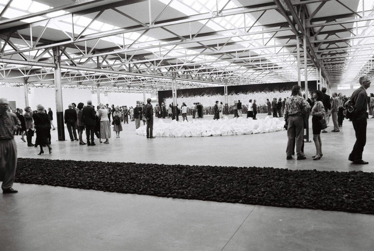 Opening of De Pont Museum, Tilburg, 1992