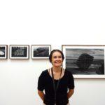 Anna Reivila vor ihrer Serie Bond, 2017. Gallery Taik Persons // SBV