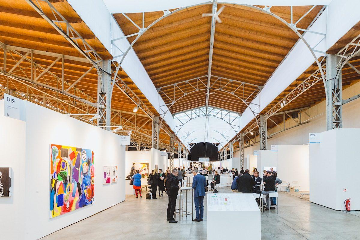 Vienna Contemporary in der Marxhalle, Wien 2017