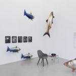 """Meyer Kainer Galerie, Ausstellungsansichten curated by, """"Schreibtischuhr"""""""