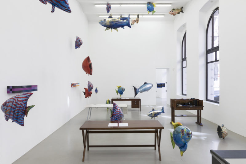 Meyer Kainer Galerie, Installationsansicht curated by 2017