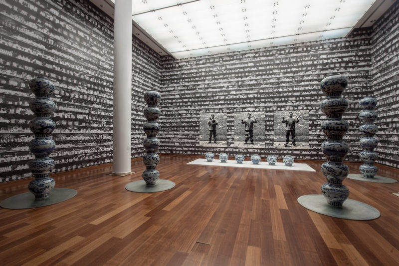 Ai Weiwei im Sakip Sabanci Museum, 2017