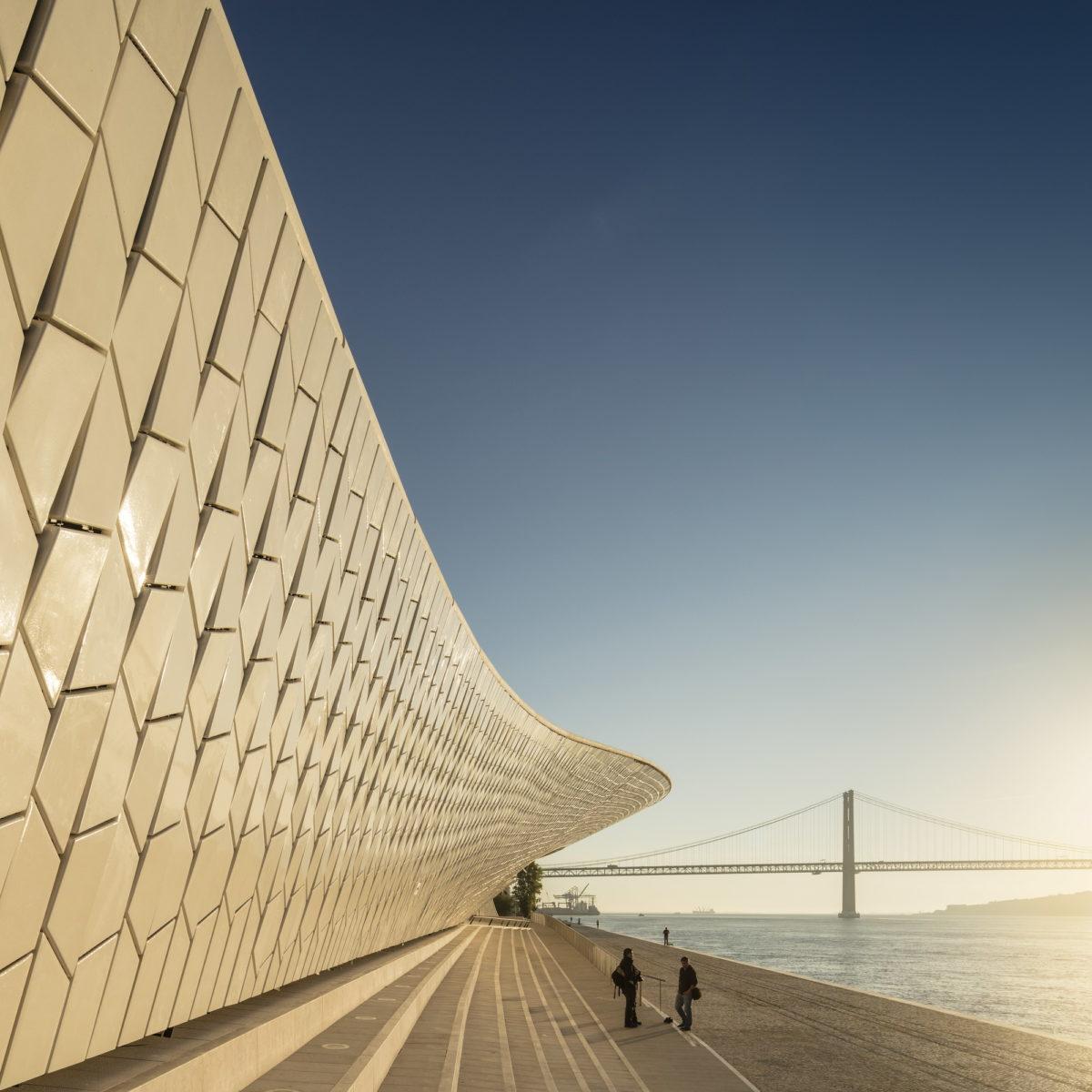 MAAT Kunsthalle, Lissabon. Foto Fernando Guerra, Courtesy EDP Foundation