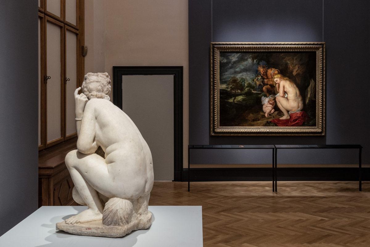 Peter Paul Rubens, Ausstellungsansicht © KHM- Museumsverband, Wien