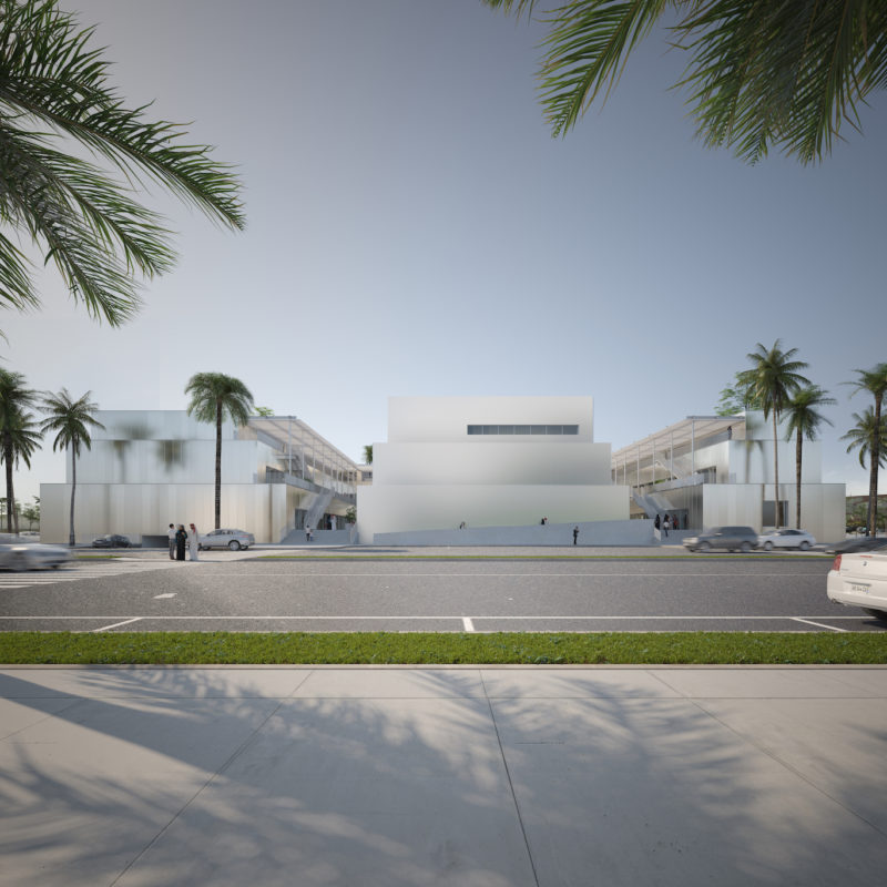 Hayy: Creative Hub, commissioned by Art Jameel and designed by ibda design