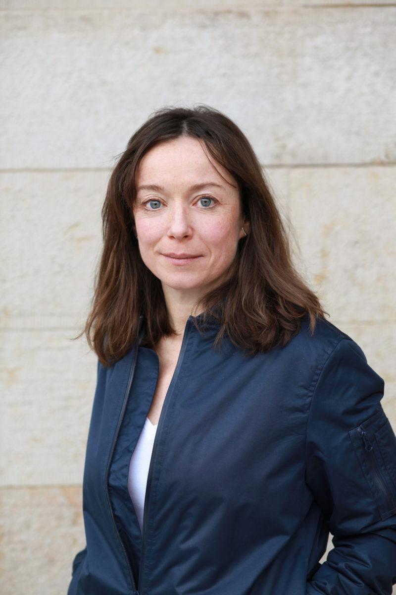 Franzisca Zólyom Kuratorin des deutschen Beitrags auf der Biennale Venedig 2019 Foto: Julia Rößner