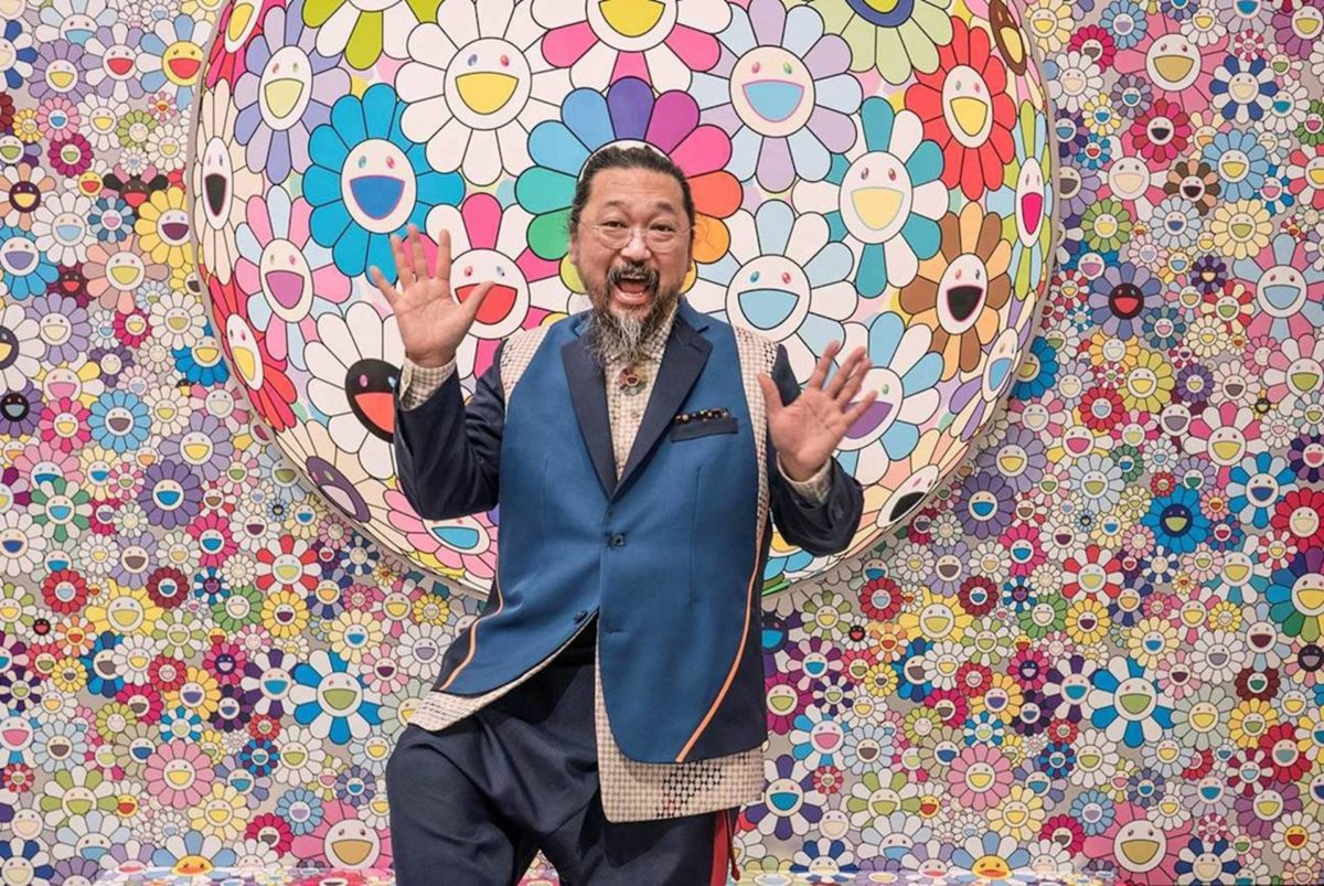 Takashi Murakami, Courtesy Fondation Louis Vuitton