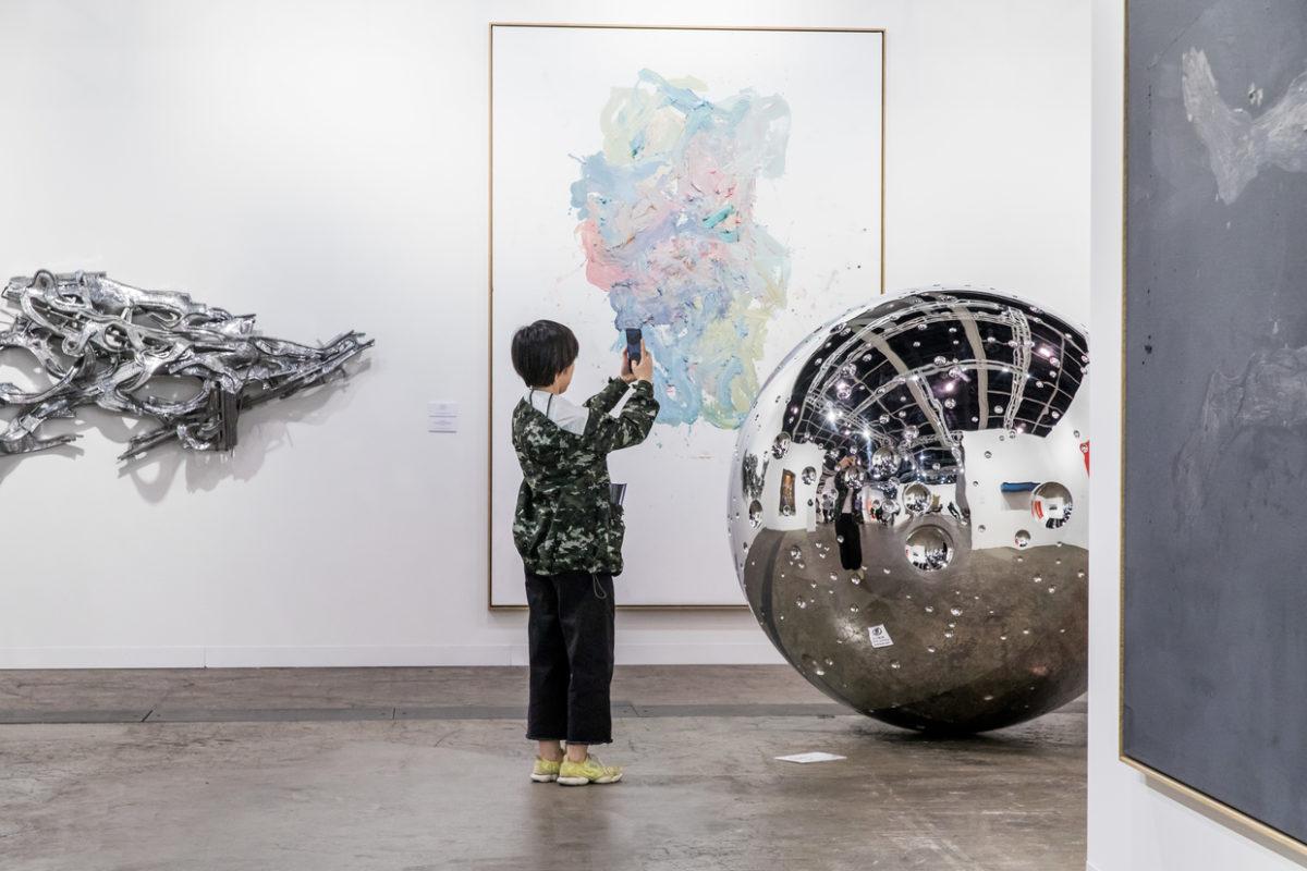 Stand von Thaddaeus Ropac, Art Basel Hong Kong 2018