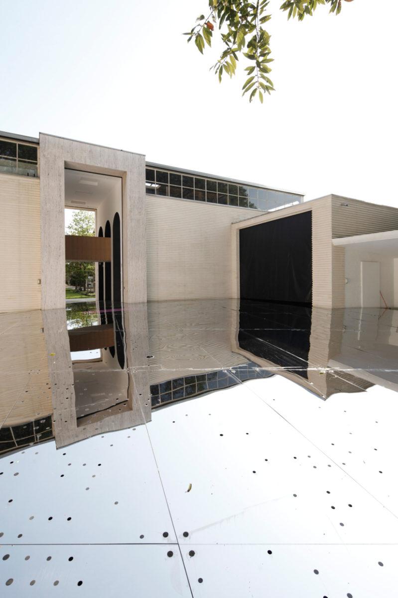 Sphere 1:50.000, LAAC, Austria Pavillion, 16. Architecture Biennale Venice 2018, Foto Martin Mischkulnig