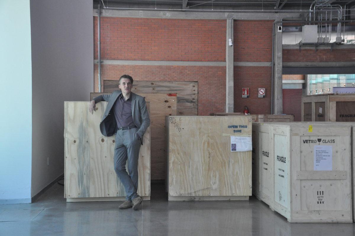 Nicolas Bourriaud. Foto Sergio Rosales Medina
