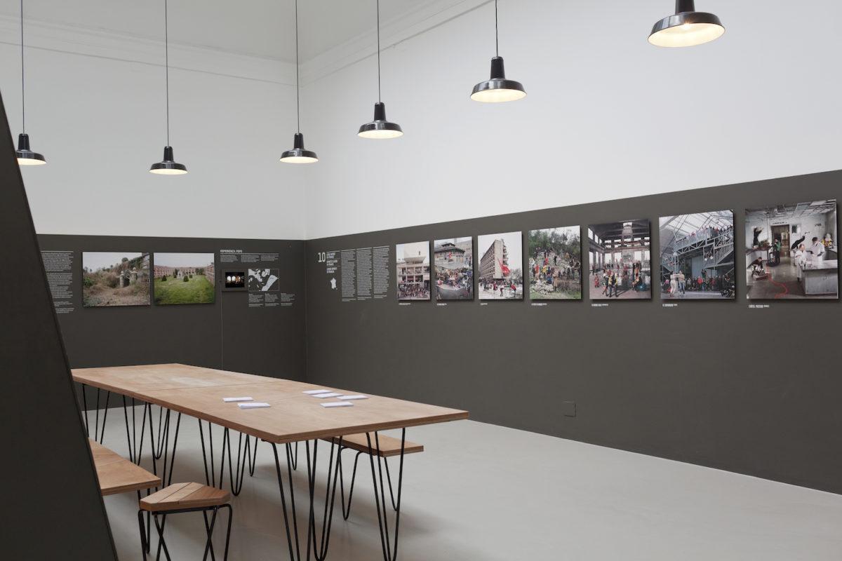 Pavillon Français,Encore Heureux. Foto Sophie Scher, 16. Architecture Biennale Venice 2018