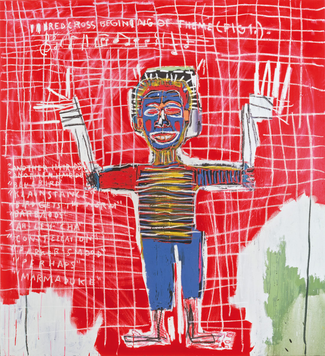 Jean-Michel Basquiat, Red Savoy, 1983. Courtesy Heidi Horten Collection, 