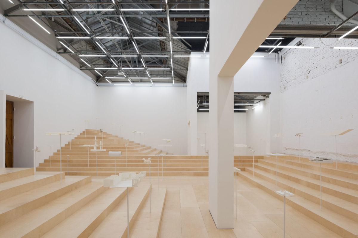 The School of Athens, Neiheiser Argyros. Foto Ugo Carmeni. 16. Architecture Biennale 2018