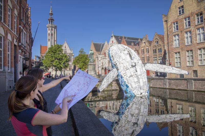 Studio KCA, Bruges Whale, Foto Jan D. Hondt, Triennale Brugge